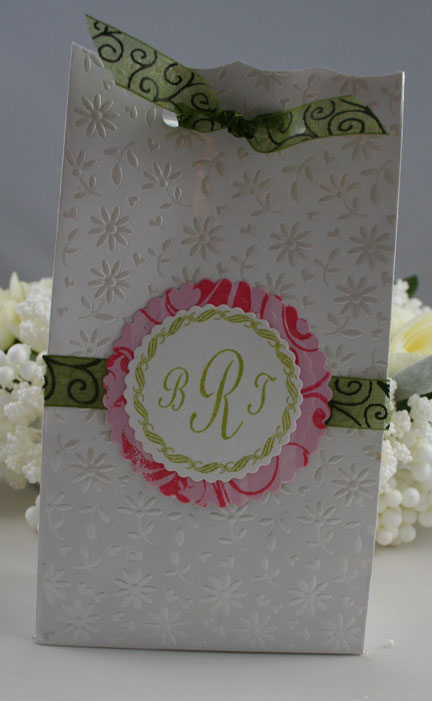Flourishes - Pink & Green Party Favor