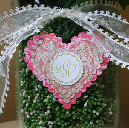 Closeup of Flourishes Bouquet
