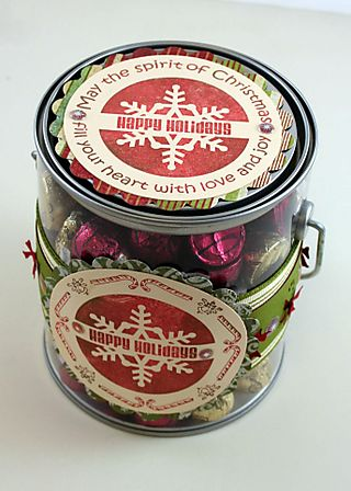 Chocolate Kisses Pail