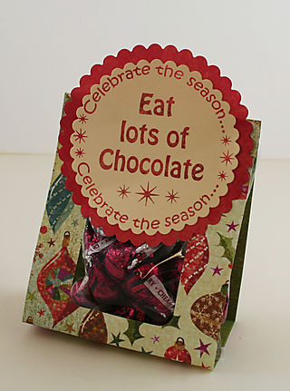 Eat Chocolate AccuCut Treat bag photo 1