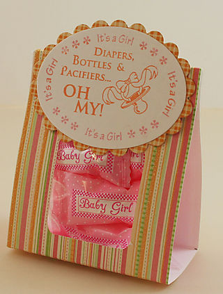 Diapers and Pacifiers - Oh My Treat bag