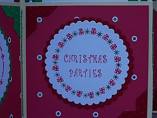 Angela's Christmas Parties Tag