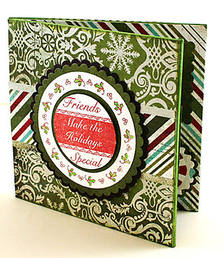 Gift Certificate Holder Photo 1-open