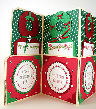 Angela's Christmas Agenda File Open Left Side6313
