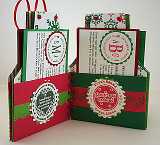 Christmas Apron - Cook Book Interior Pages Set 2- web size
