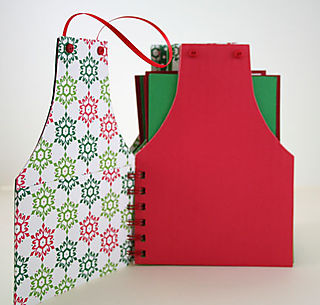 Christmas Apron - Pages for scrapbooking web sized