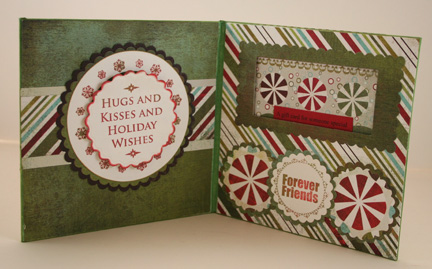 Best Shot of Interior of Christmas Gift Certificate holders