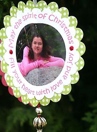 3-D photo Ornament Side 3