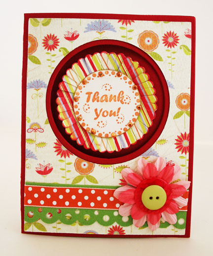 Thank You Card - Penny Lane