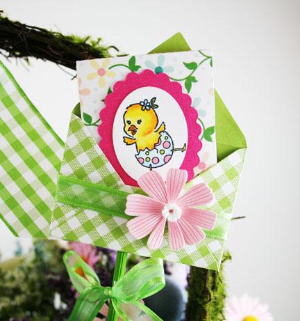 Great closeup of mini card