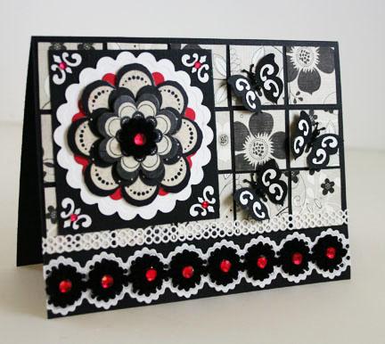 Best photo of Black & White Card