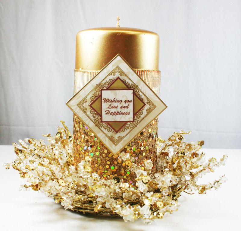 Wishing you Happiness Candle