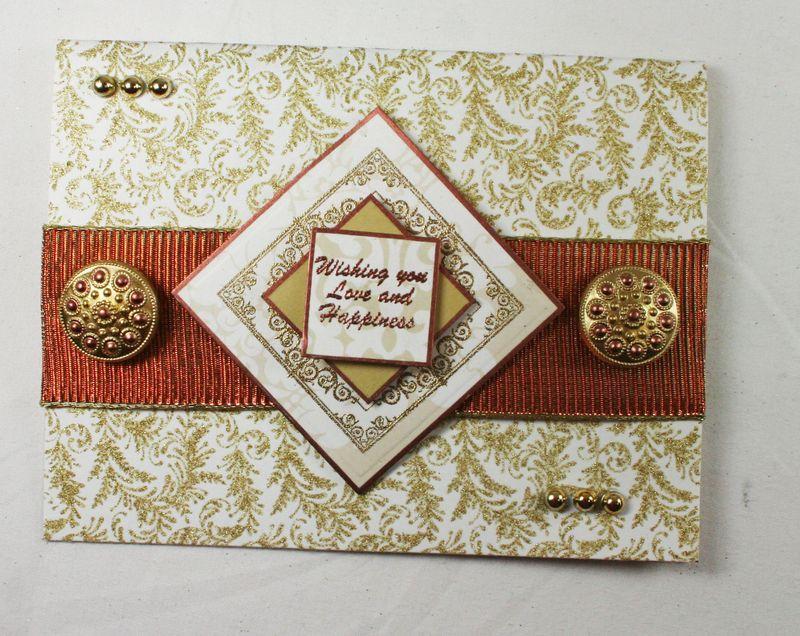Wishing you happiness card