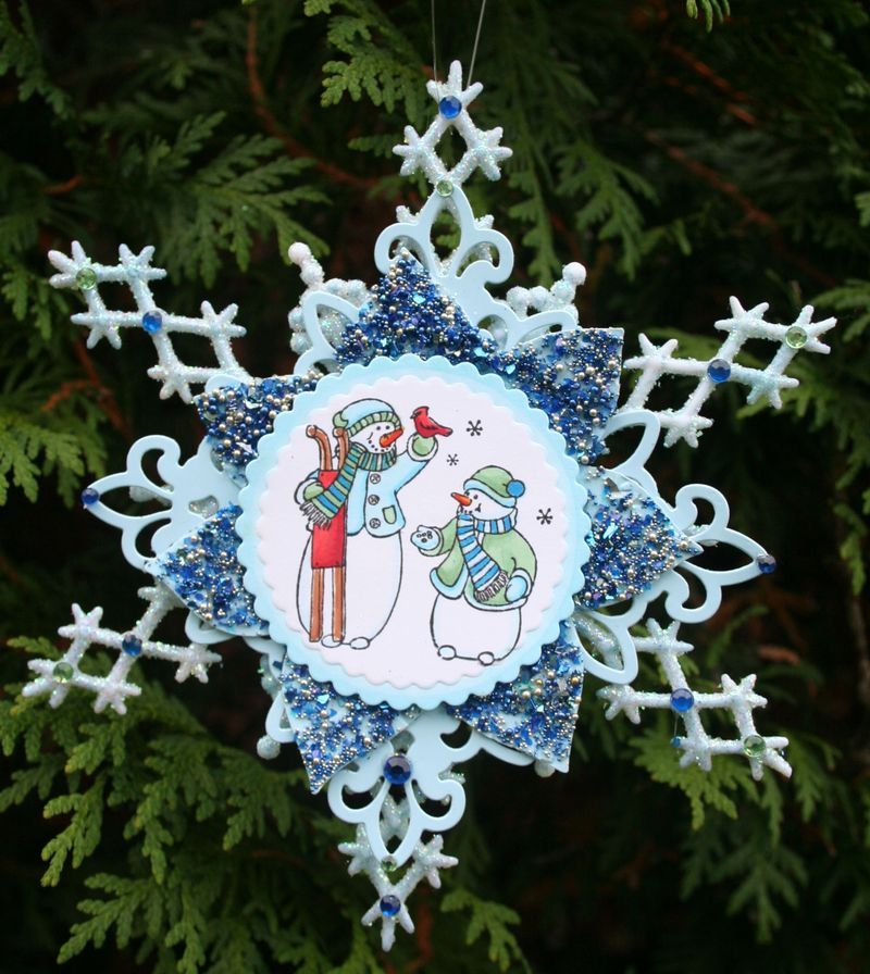 Snowflake Pair of Snowmen- photo 5