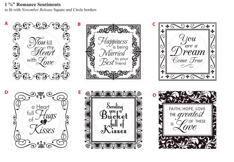 JR 1 5-8 in Loving Thoughts with Square Decorative Borders