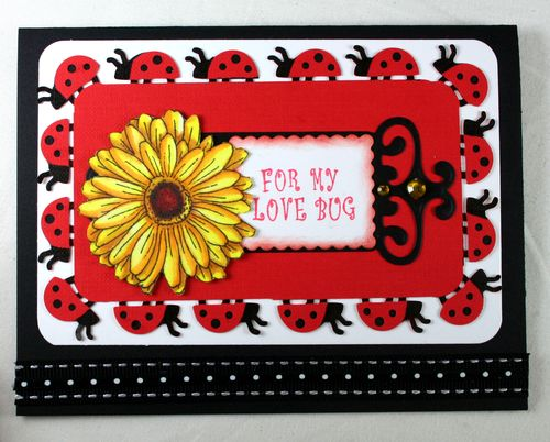 Lady bug Card photo 2