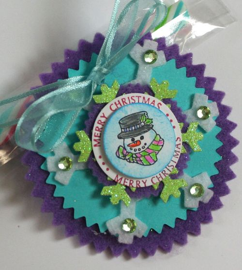 Close up of Snowman