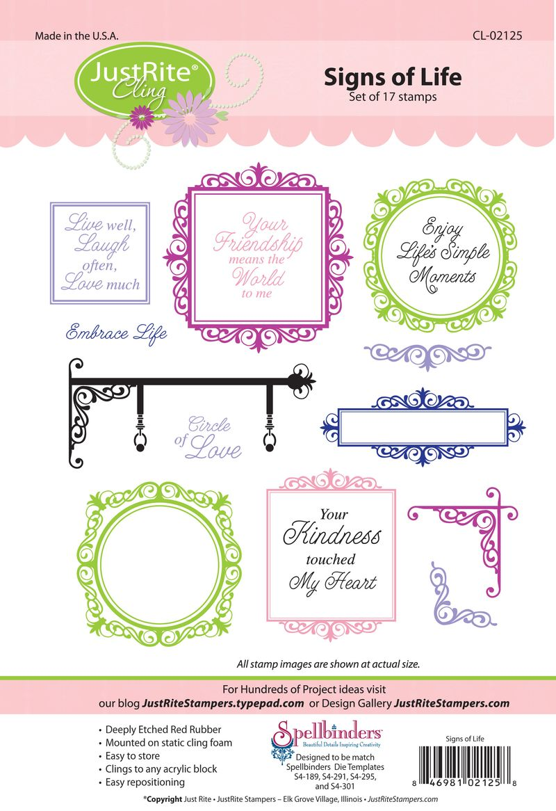 JR CL-02125 Signs of Life PACKAGE (2)