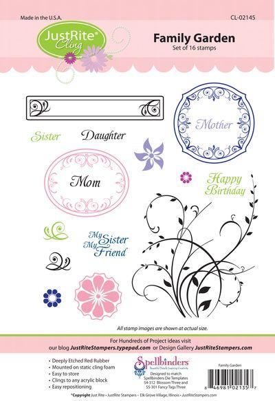 JR CL-02145 Family Garden PACKAGE2