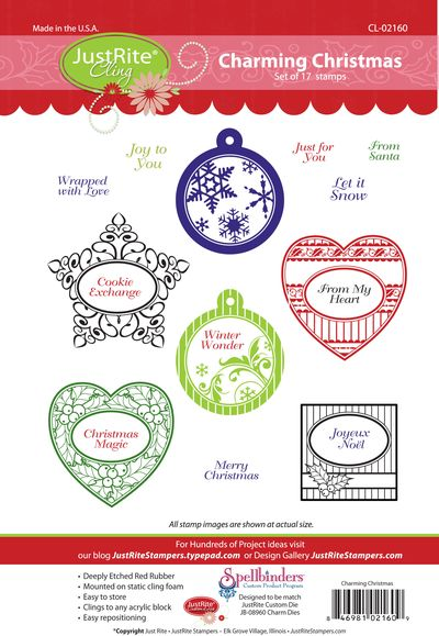 JR CL-02160 Charming Christmas PACKAGE