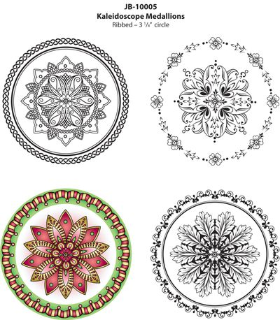 JB10005KaleidoscopeMedallionsColoredImage