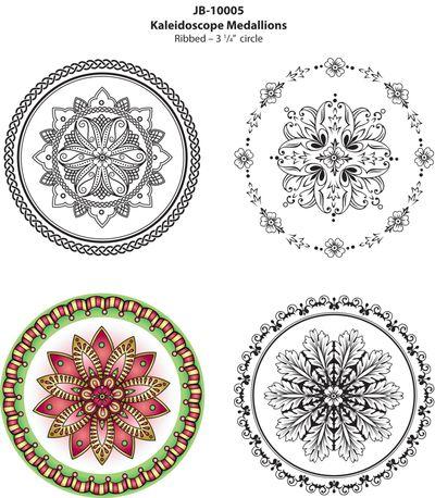 JB10005KaleidoscopeMedallionsColoredImage