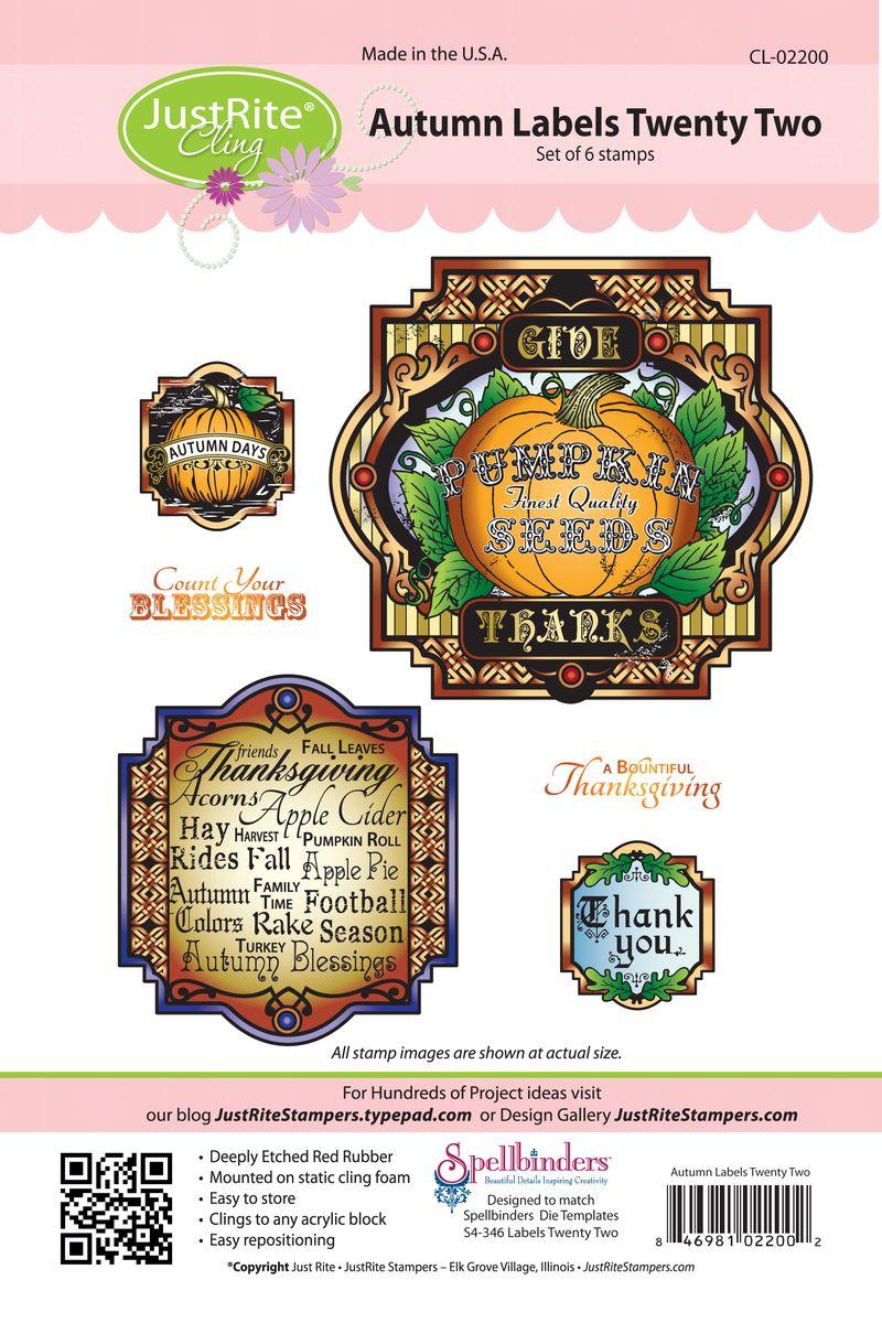 JR CL-02200 Autumn Labels Twenty Two PACKAGE copy