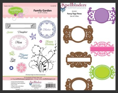 Family Garden Fancy Tags Three Blog Candy
