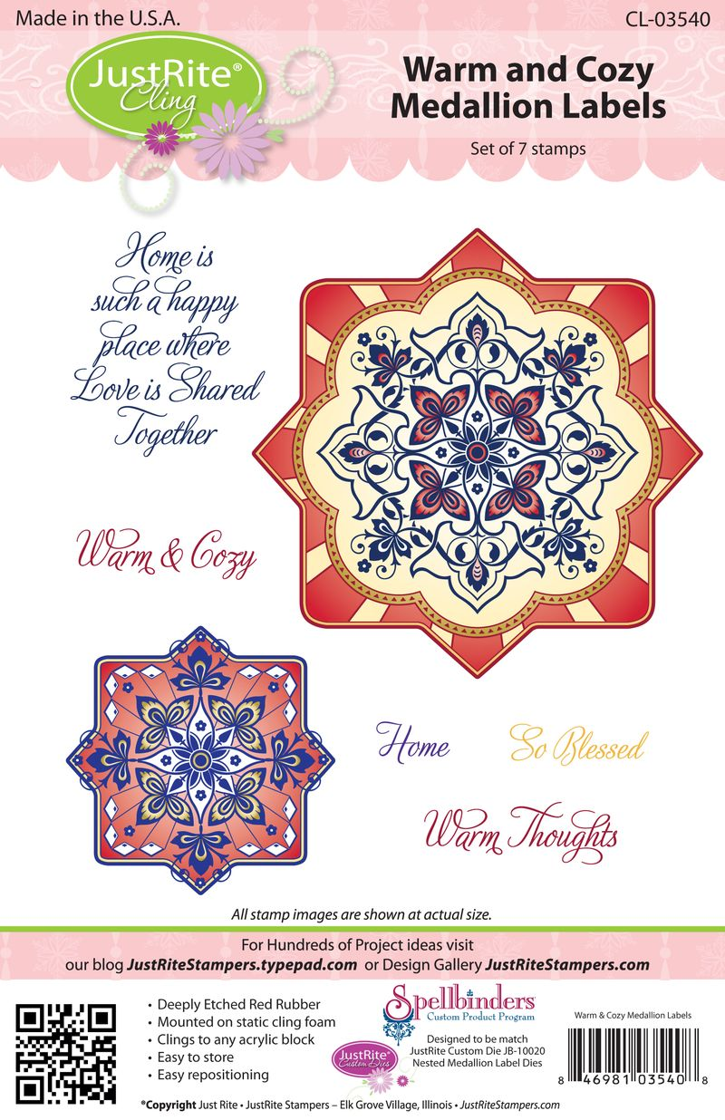 JR CL-03540 Warm & Cozy Medallion for web (2)