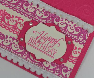 Close up of Happy Birthday
