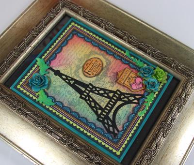 Close up of Fragrant Garden Frame