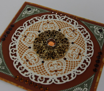Close up of Doilies &  Lace