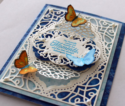 Close Up of Hydrangea Vintage Labels Seven