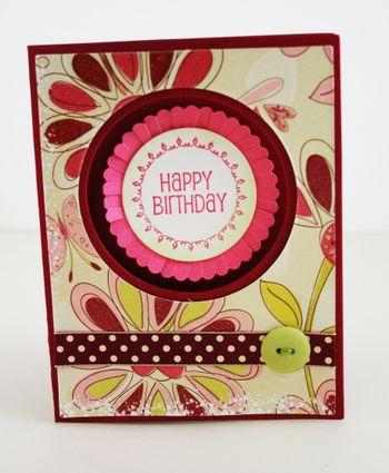 Happy Birthday Daisy Card