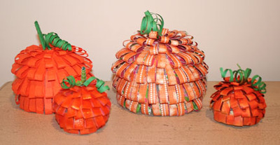 Paper_pumpkins_set_of_4